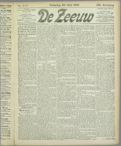 De Zeeuw. Christelijk-historisch nieuwsblad voor Zeeland 1919-06-30