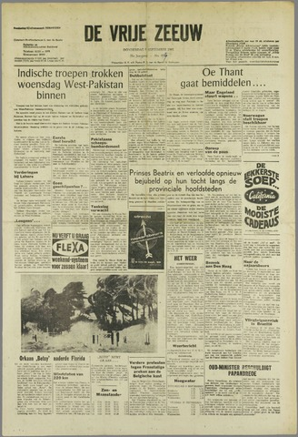 de Vrije Zeeuw 1965-09-09