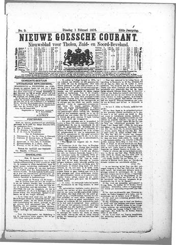 Nieuwe Goessche Courant 1876-02-01