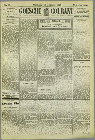 Goessche Courant 1927-08-17