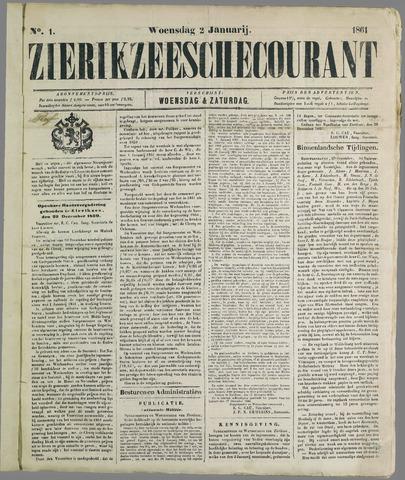 Zierikzeesche Courant 1861