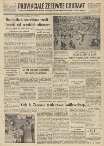 Provinciale Zeeuwse Courant 1957-07-22