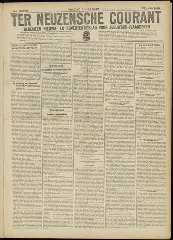 Ter Neuzensche Courant. Algemeen Nieuws- en Advertentieblad voor Zeeuwsch-Vlaanderen / Neuzensche Courant ... (idem) / (Algemeen) nieuws en advertentieblad voor Zeeuwsch-Vlaanderen 1942-07-03