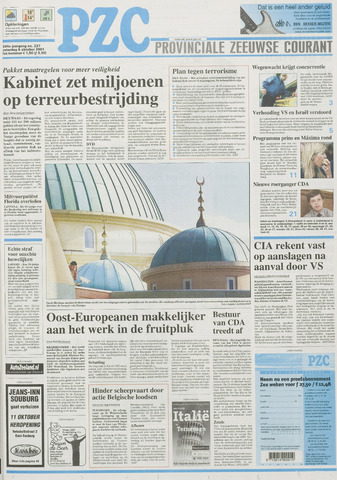 Provinciale Zeeuwse Courant 2001-10-06