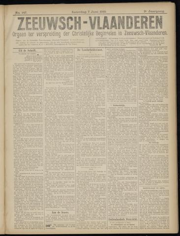 Luctor et Emergo. Antirevolutionair nieuws- en advertentieblad voor Zeeland / Zeeuwsch-Vlaanderen. Orgaan ter verspreiding van de christelijke beginselen in Zeeuwsch-Vlaanderen 1919-06-07