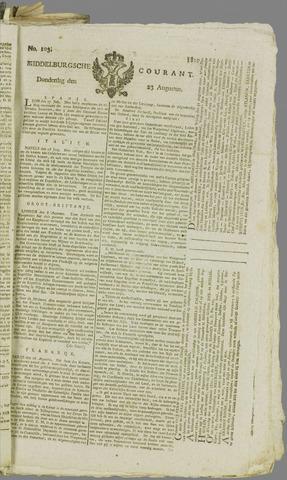 Middelburgsche Courant 1810-08-23