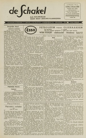 De Schakel 1958-02-07