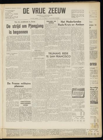de Vrije Zeeuw 1950-10-18
