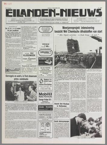 Eilanden-nieuws. Christelijk streekblad op gereformeerde grondslag 1989-11-03