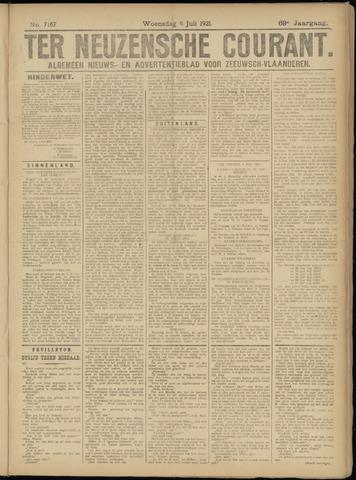 Ter Neuzensche Courant. Algemeen Nieuws- en Advertentieblad voor Zeeuwsch-Vlaanderen / Neuzensche Courant ... (idem) / (Algemeen) nieuws en advertentieblad voor Zeeuwsch-Vlaanderen 1921-07-06