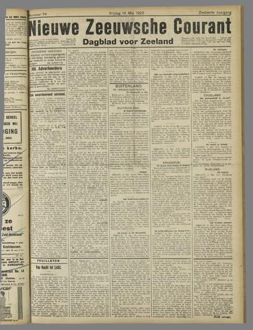 Nieuwe Zeeuwsche Courant 1920-05-14