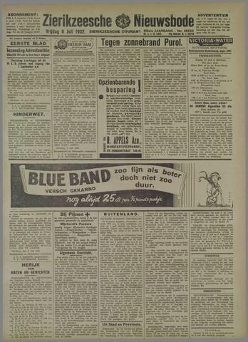 Zierikzeesche Nieuwsbode 1932-07-08
