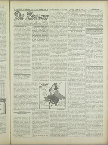 De Zeeuw. Christelijk-historisch nieuwsblad voor Zeeland 1943-01-13