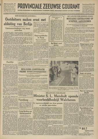 Provinciale Zeeuwse Courant 1952-05-29
