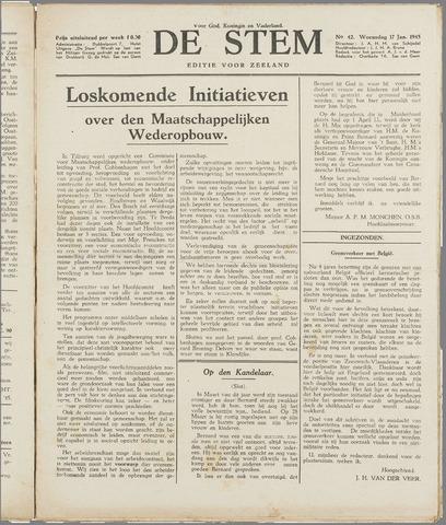 de Stem 1945-01-17