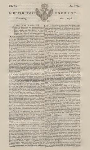 Middelburgsche Courant 1762-04-01