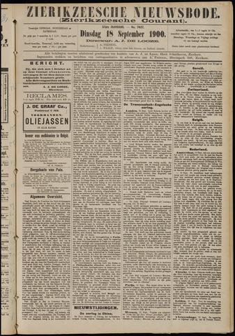 Zierikzeesche Nieuwsbode 1900-09-18