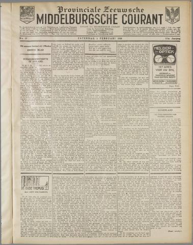 Middelburgsche Courant 1930-02-01