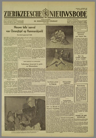 Zierikzeesche Nieuwsbode 1960-10-04