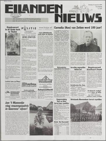Eilanden-nieuws. Christelijk streekblad op gereformeerde grondslag 2000-08-15
