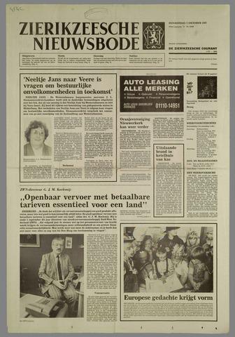 Zierikzeesche Nieuwsbode 1987-10-01
