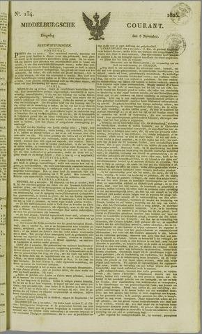 Middelburgsche Courant 1825-11-08
