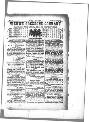 Nieuwe Goessche Courant 1879-07-01