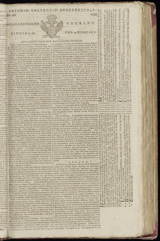 Middelburgsche Courant 1795-02-24