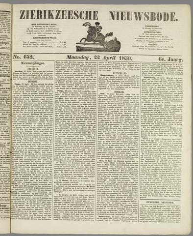 Zierikzeesche Nieuwsbode 1850-04-22