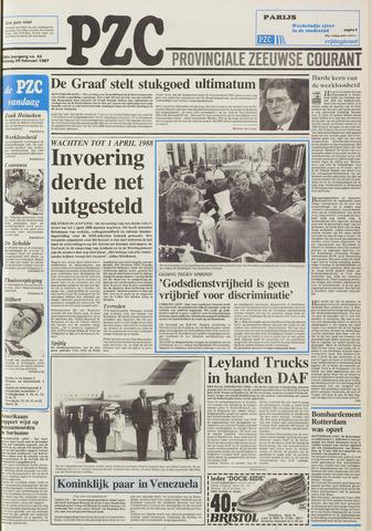 Provinciale Zeeuwse Courant 1987-02-20