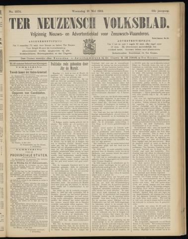 Ter Neuzensch Volksblad. Vrijzinnig nieuws- en advertentieblad voor Zeeuwsch- Vlaanderen / Zeeuwsch Nieuwsblad. Nieuws- en advertentieblad voor Zeeland 1913-05-21