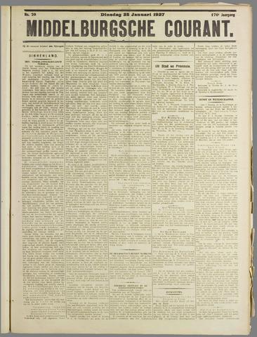 Middelburgsche Courant 1927-01-25