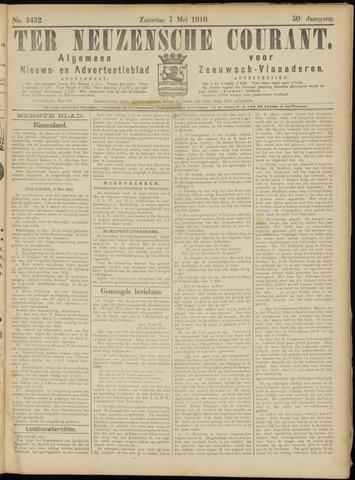 Ter Neuzensche Courant. Algemeen Nieuws- en Advertentieblad voor Zeeuwsch-Vlaanderen / Neuzensche Courant ... (idem) / (Algemeen) nieuws en advertentieblad voor Zeeuwsch-Vlaanderen 1910-05-07