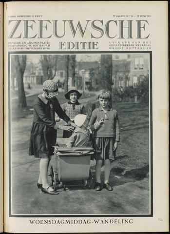 Ons Zeeland / Zeeuwsche editie 1931-06-19