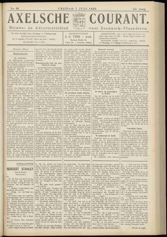 Axelsche Courant 1939-07-07