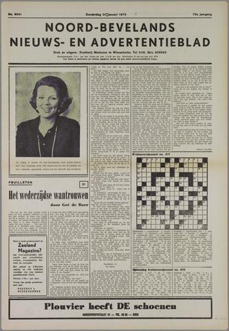 Noord-Bevelands Nieuws- en advertentieblad 1975-01-30