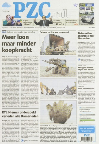 Provinciale Zeeuwse Courant 2010-11-19