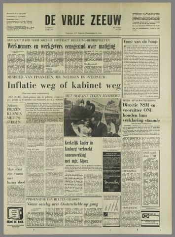 de Vrije Zeeuw 1972-05-20