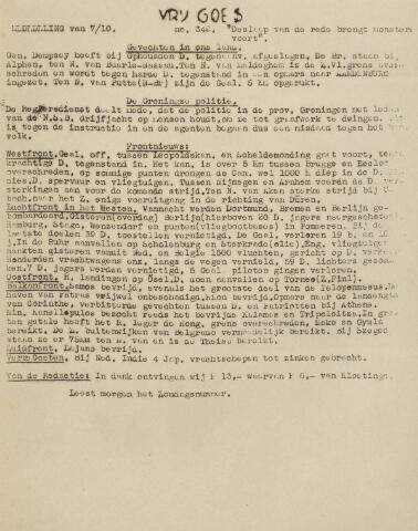 Vrij Goes 1944-10-07