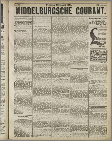 Middelburgsche Courant 1921-03-22