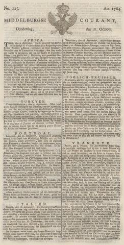 Middelburgsche Courant 1764-10-18