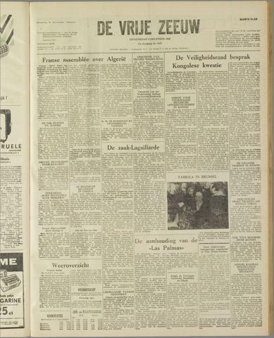 de Vrije Zeeuw 1960-12-08