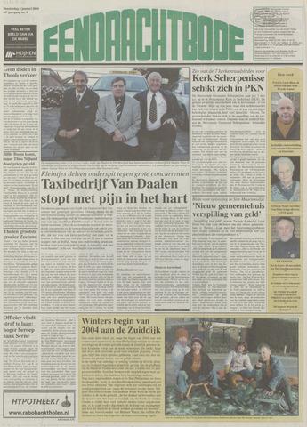 Eendrachtbode (1945-heden)/Mededeelingenblad voor het eiland Tholen (1944/45) 2004-01-08