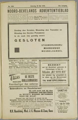 Noord-Bevelands Nieuws- en advertentieblad 1928-05-26