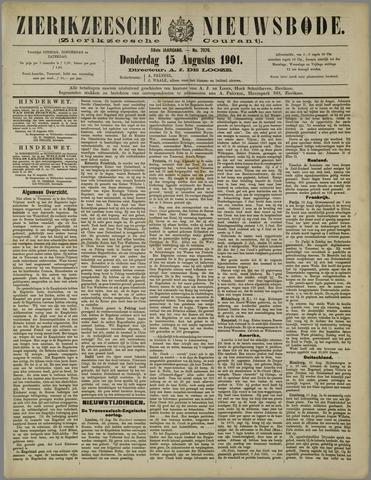 Zierikzeesche Nieuwsbode 1901-08-15