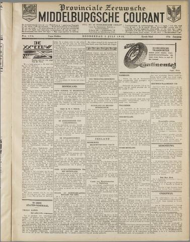 Middelburgsche Courant 1930-07-03