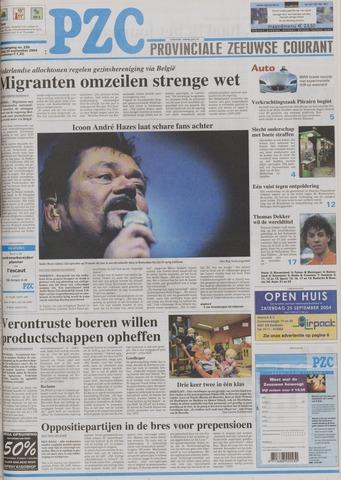 Provinciale Zeeuwse Courant 2004-09-24