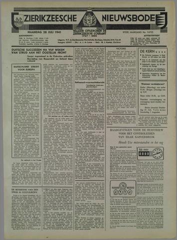 Zierikzeesche Nieuwsbode 1941-07-26