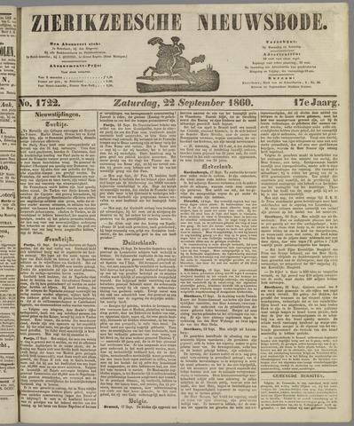 Zierikzeesche Nieuwsbode 1860-09-22