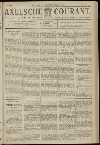 Axelsche Courant 1924-09-26